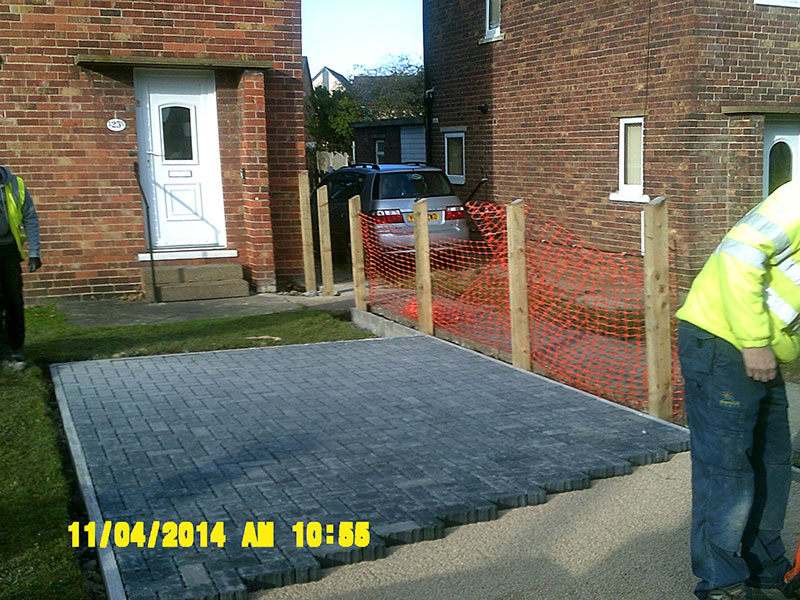 BCB Athersley Community Refurbishment Scheme Brickwork
