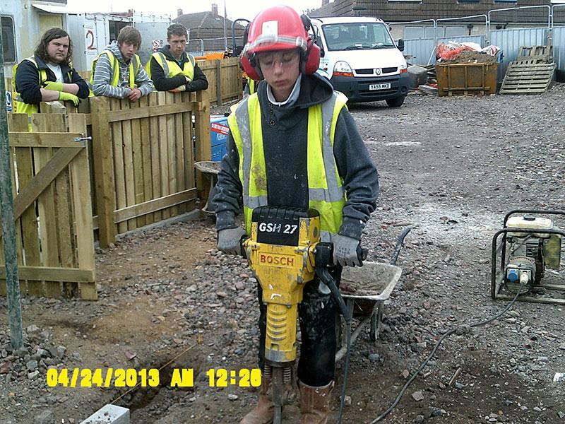 BCB Training Darfield community refurbishment scheme
