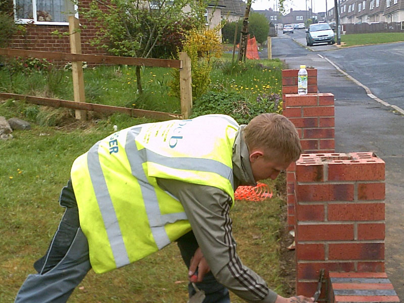 darfield community refurbishment scheme apprentice