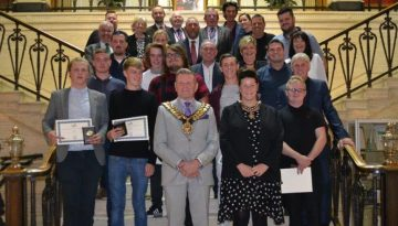 BCB Apprenticeship Awards, Barnsley Town Hall, September 2018